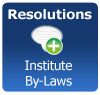 Resolutions - Amendments to Institute By-Laws