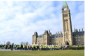 Public Service Employees March on Parliament Hill