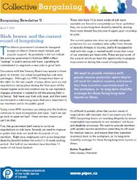 Bargaining Newsletter #3 (PDF)