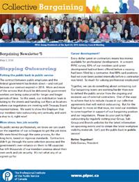 Bargaining Newsletter #5 (PDF)