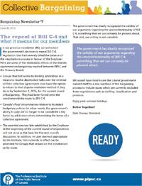 Bargaining Newsletter #7 (PDF)