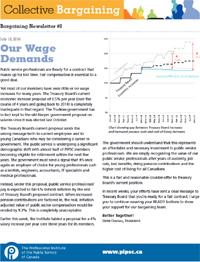 Bargaining newsletter #8 (PDF)